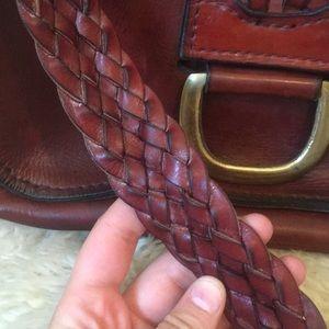 Vintage Bags - Vintage braided strap 1970s shoulder bag